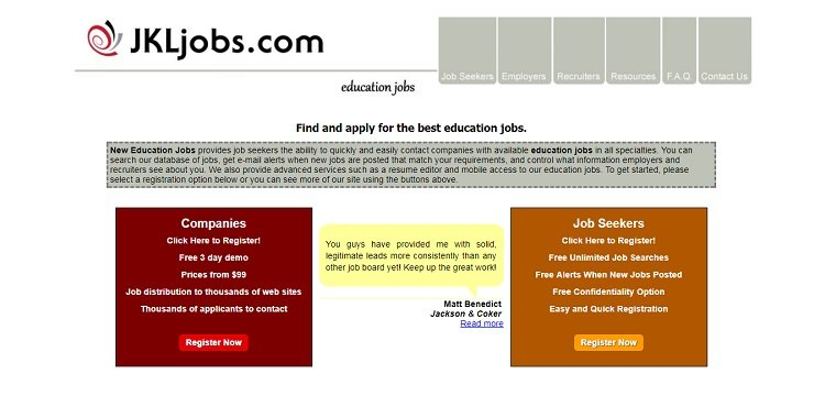 NewEducationJobs