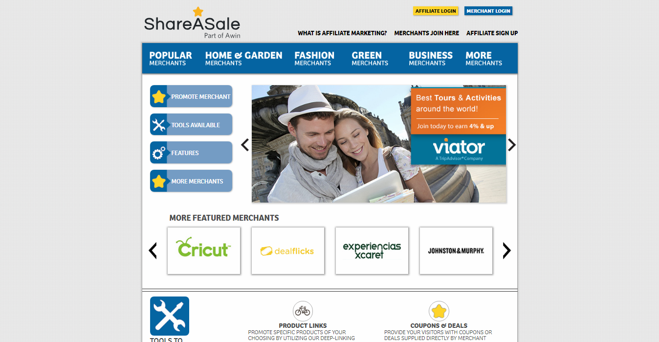 ShareASale Niches