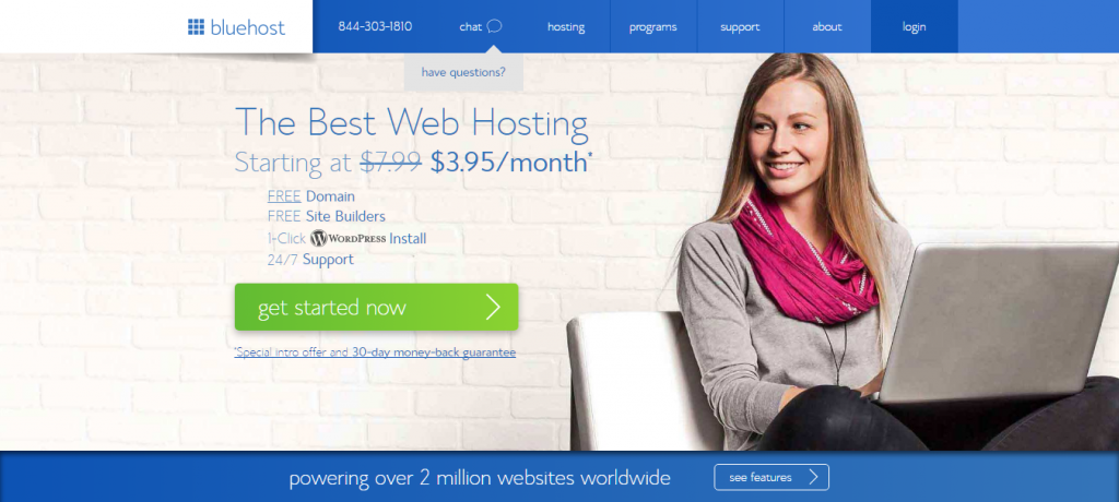 Bluehost Web Host