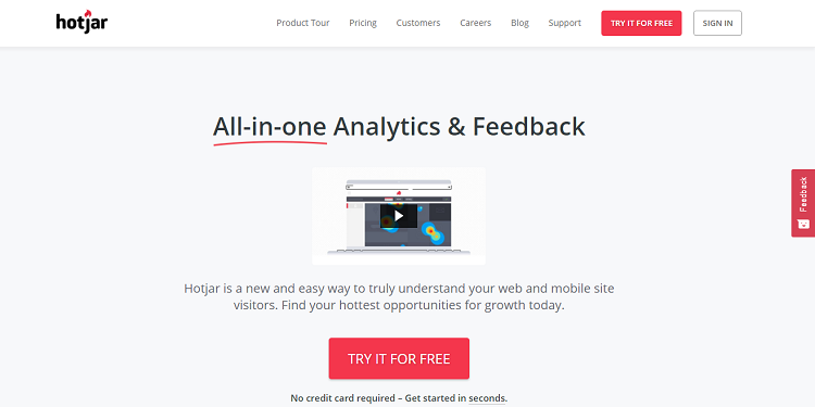Hotjar is Perfect for Website Conversion Optimization