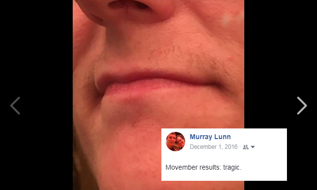 Movember Results