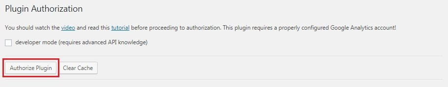 Authorize Plugin