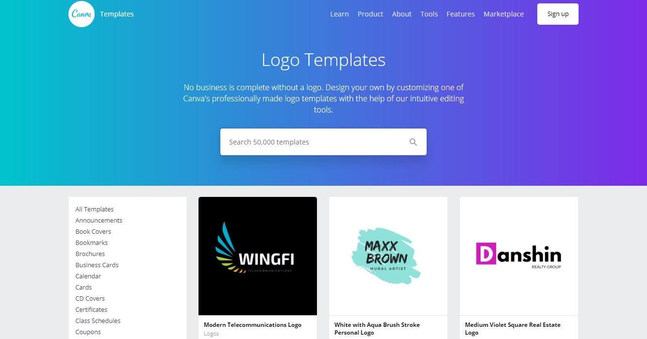 Logo Templates by Canva