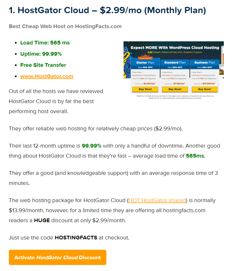 Cheap Web Hosting Review