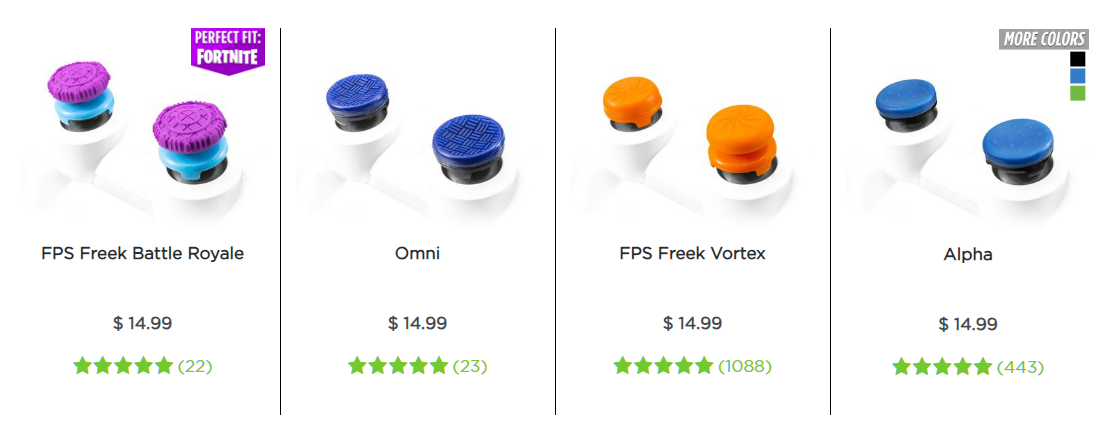 KontrolFreek Product Catalog